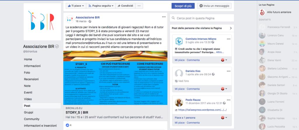 looking for mentors open call mentors BIR Italy facebook