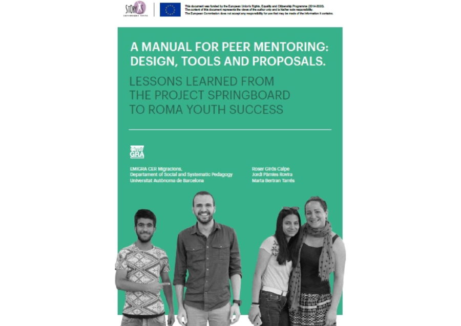 Handbook for peer to peer mentoring
